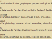 Les abreviations du RPG-making