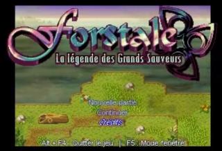 Test de Forstale - La légende des Grands Sauveurs