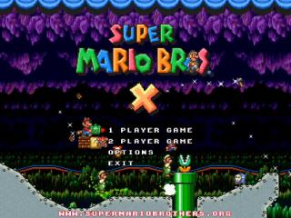 Trailer de Super Mario Brothers X v1.2
